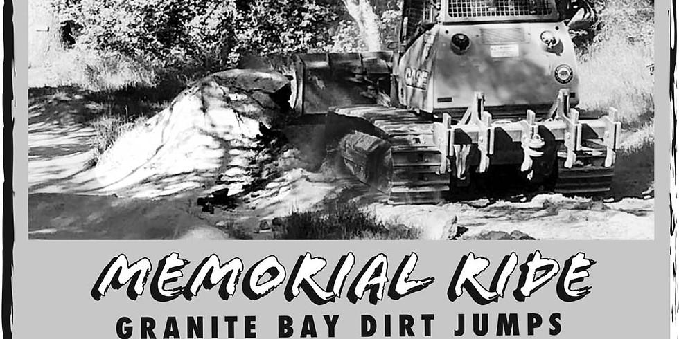 Build Don't Bulldoze Memorial Ride