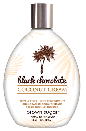 Black Chocolate Coconut Cream 13.5 oz  - By Brown Sugar