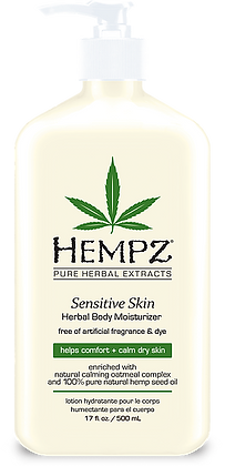 Hempz Sensitive Skin Moisturizer 17 oz