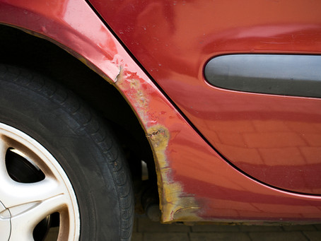 Preventing rust spots on your vehicles