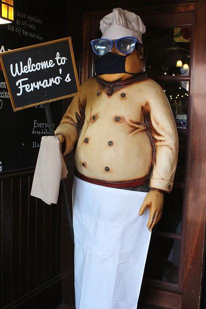 Welcome To Ferraros.JPG