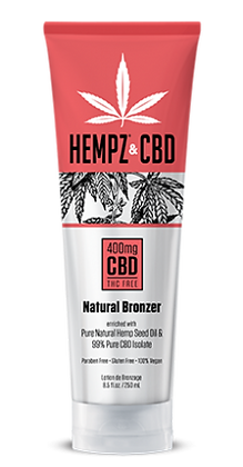 Hempz & CBD Natural Bronzer 8.5oz