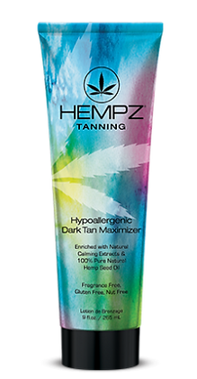 Hempz Hypoallergenic Dark Tan Maximizer 9 oz