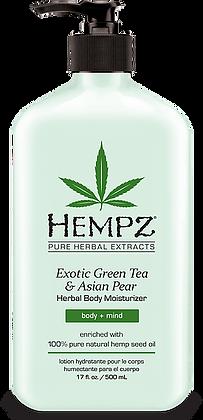 Hempz Exotic Green Tea and Asian Pear Moisturizer 17 oz