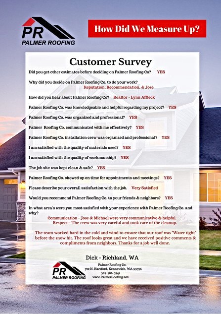 Palmer Roofing Review - Dick .jpg