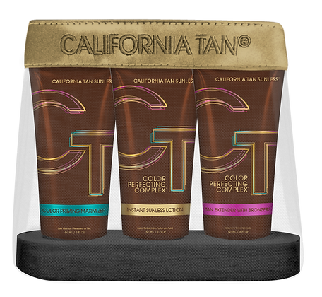 California Tan Sunless Maintenance Kit - With Free Bronzing Powder Pen & Compact