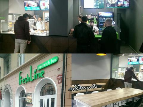Первый сэндвич-бар FreshLine в Виннице!