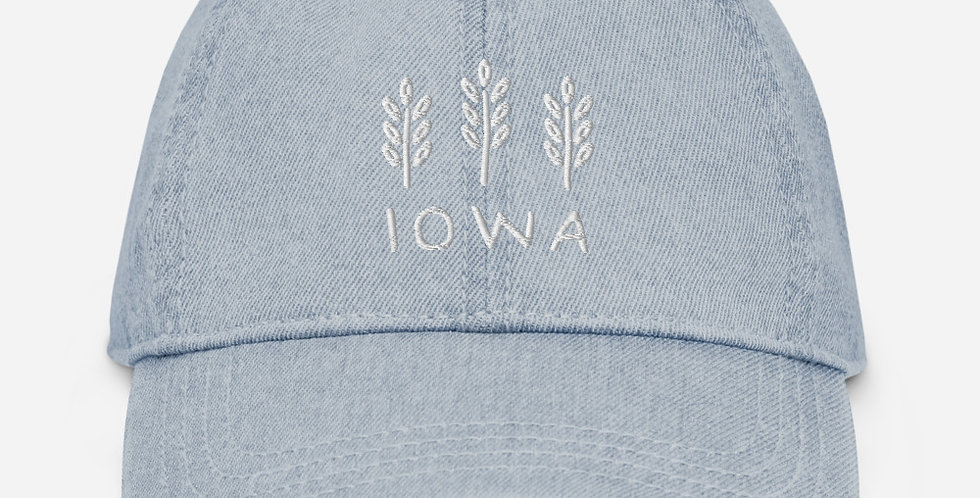 Iowa Denim Hat