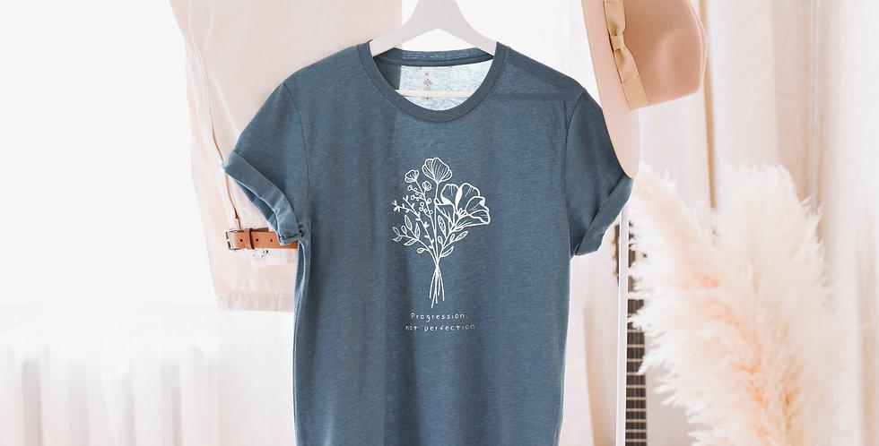 Progression Not Perfection Short-Sleeve T-Shirt