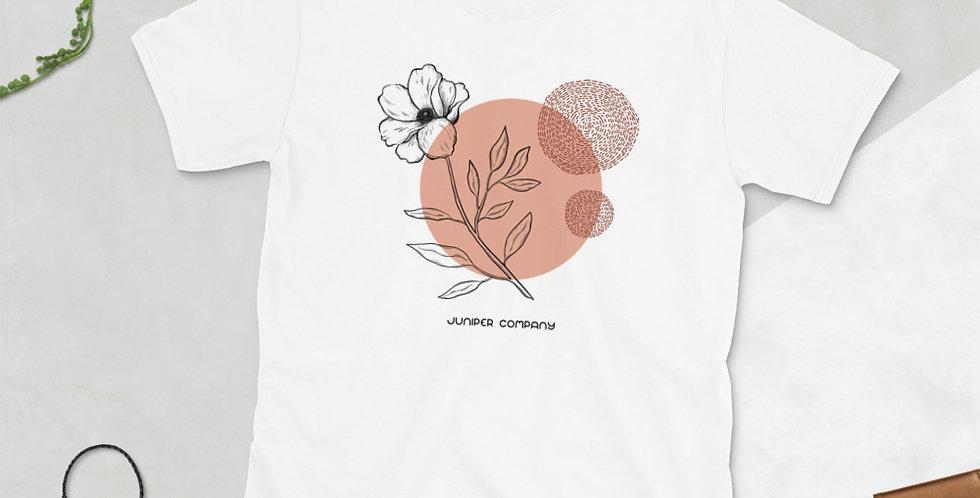 Abstract Flower Short-Sleeve T-Shirt