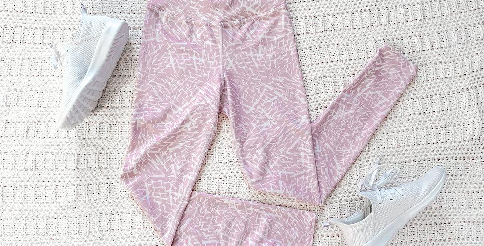Pink Painted Leggings