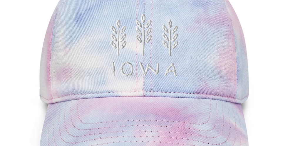 Iowa Tie Dye Hat copy