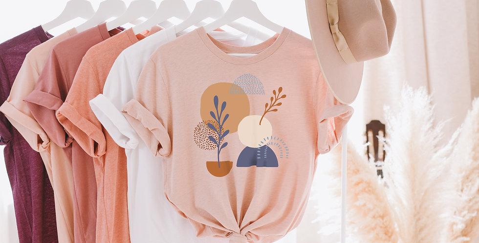 Abstract Short-Sleeve T-Shirt