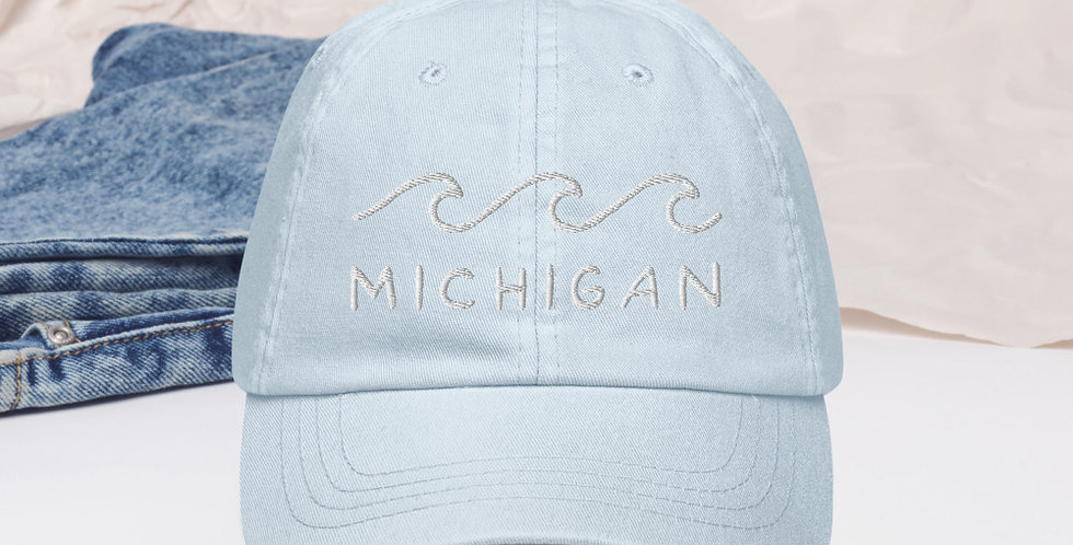Michigan Pastel Baseball Hat