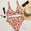 Thumbnail: Grapefruit Recycled High-Waisted Bikini