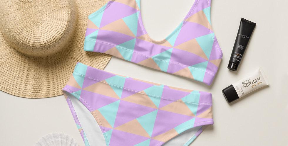 90s Recycled High-Waisted Bikini