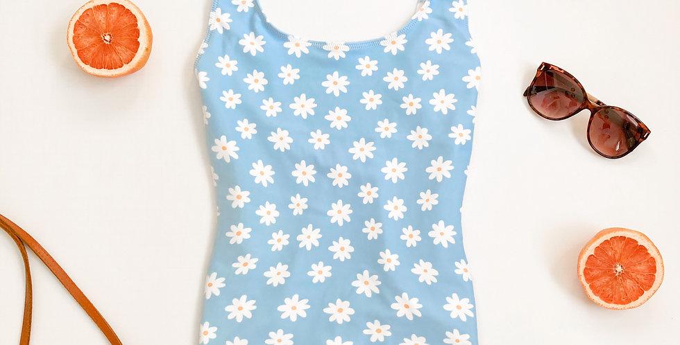 Vegan Daisy One-Piece Swimsuit