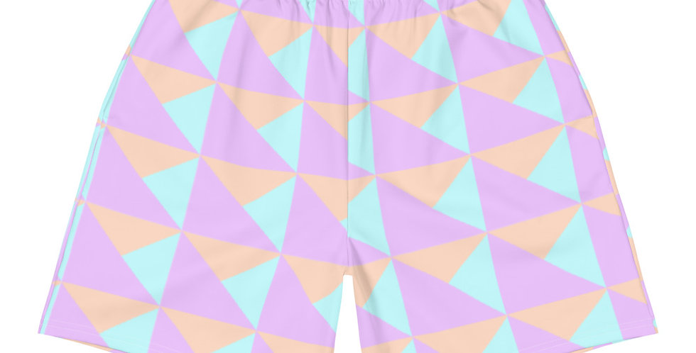 Matching Athletic Vegan Shorts   90s Pastel