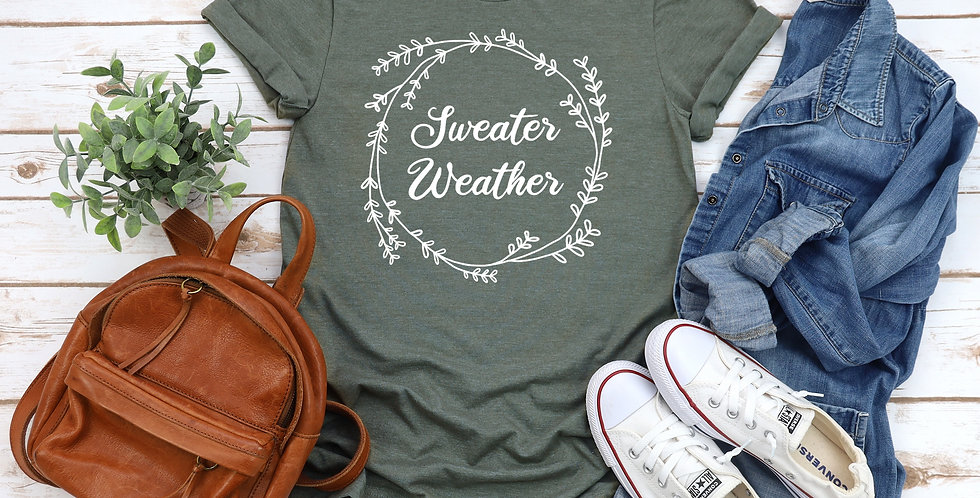 Sweater Weather Short-Sleeve T-Shirt