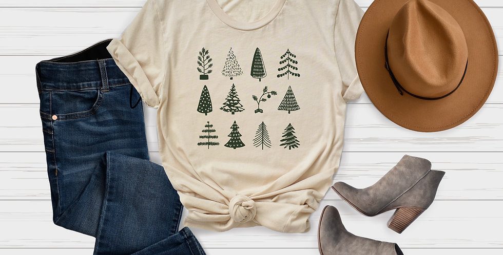 Christmas Trees Short-Sleeve T-Shirt