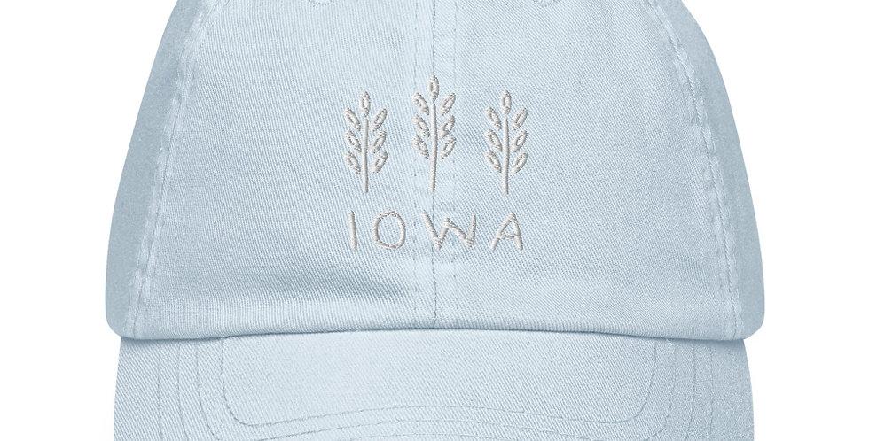 Iowa Pastel Baseball Hat