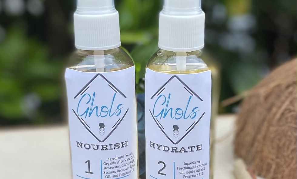 Nourish and Hydrate Locs Duo 4oz