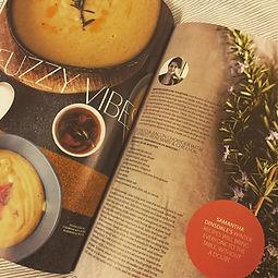 Sam Dinsdale, Cuisine Magazine