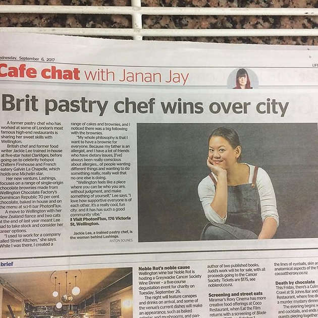 We're Page 3 Girls, Now | Baked Goods | Wellington | Lashings
