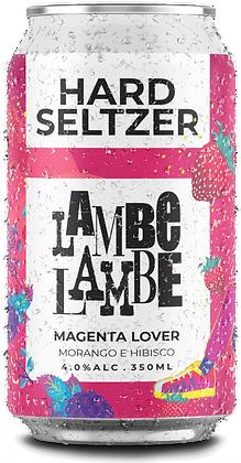 Magenta Lover Hard Seltzer Lambe Lambe 350ml