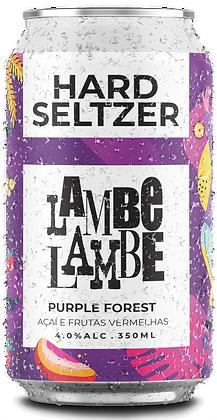 Purple Forest Hard Seltzer Lambe Lambe 350ml
