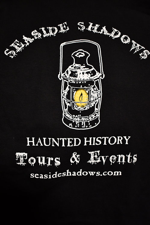 Seaside Shadows Lantern Logo Tee - Black