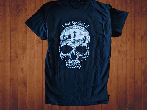 I Got Spooked at Seaside Shadows Tee