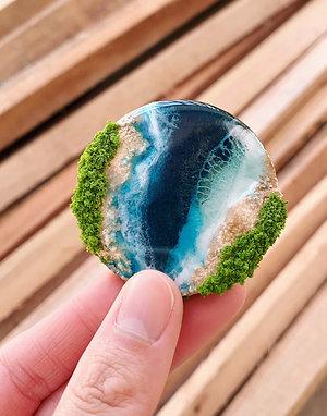 Beach Magnet | Signature Mini Series | Classic Beach
