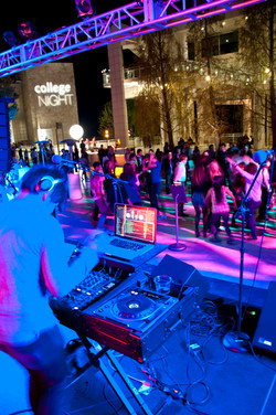 Getty Center College Night 2012