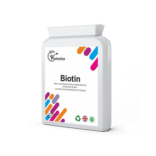 Biotin 10000µg 120 Tablets