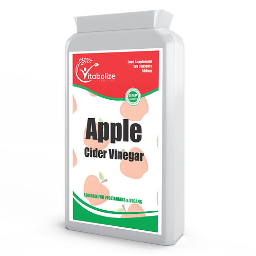 Apple Cider Vinegar 500mg 120 Capsules