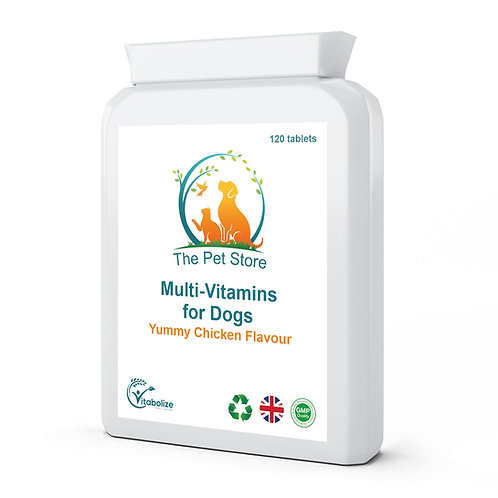 Multi-Vitamins for Dogs (Yummy Chicken Flavour)