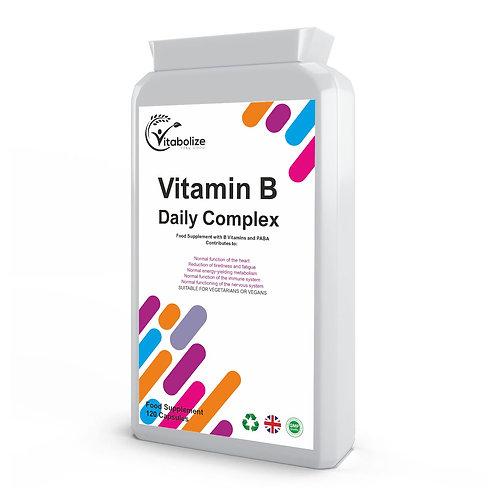 Vitamin B Complex Daily 120 Capsules