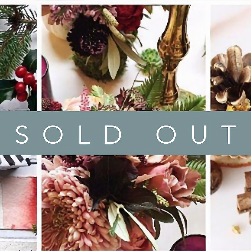 Creative Winter Workshop - SOLD OUT