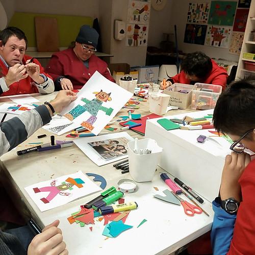 grups d'Àuria - dibuix i pintura