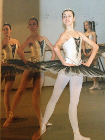 Paquita ballet rehearsal, State Ballet School Berlin, 1990