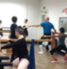 pliés in Holistic Ballet Class