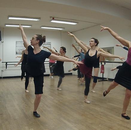 Holistic Ballet, adult ballet class London