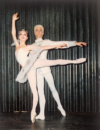Post-performance, The Nutcracker, Berlin 1996