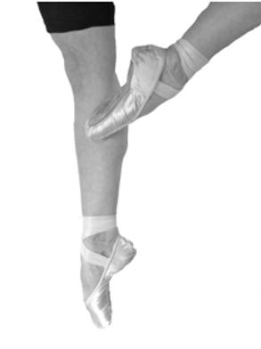 ballet pointe work
