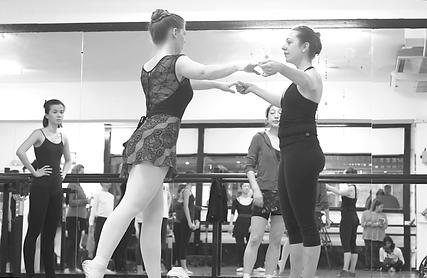 adult ballet class london