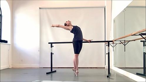 Holistic Ballet pointe class