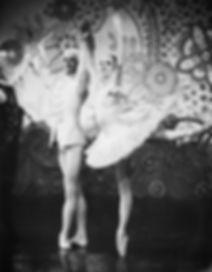 Franziska Rosenzweig, principle dancer in The Nutcracker