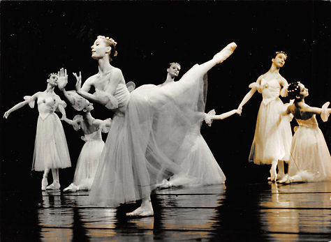 George Balanchine's Symphony in C with Franziska Rosenzweig