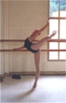 hip flexors stretch for arabesques